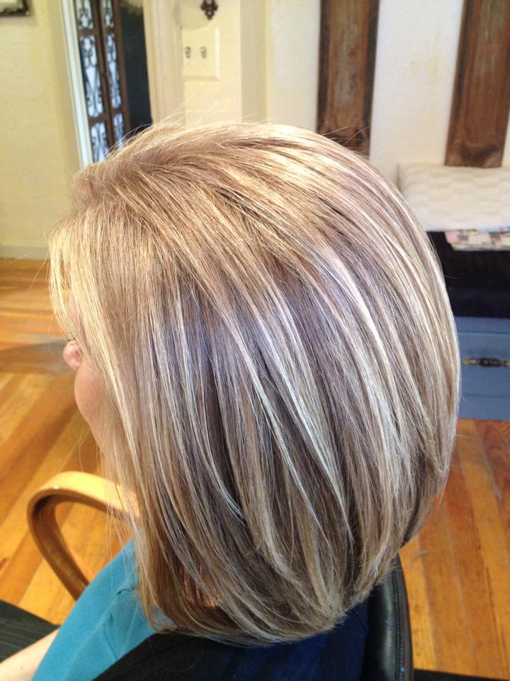 Blending Grey Hair With Highlights And Lowlights Hairs Picture Gallery