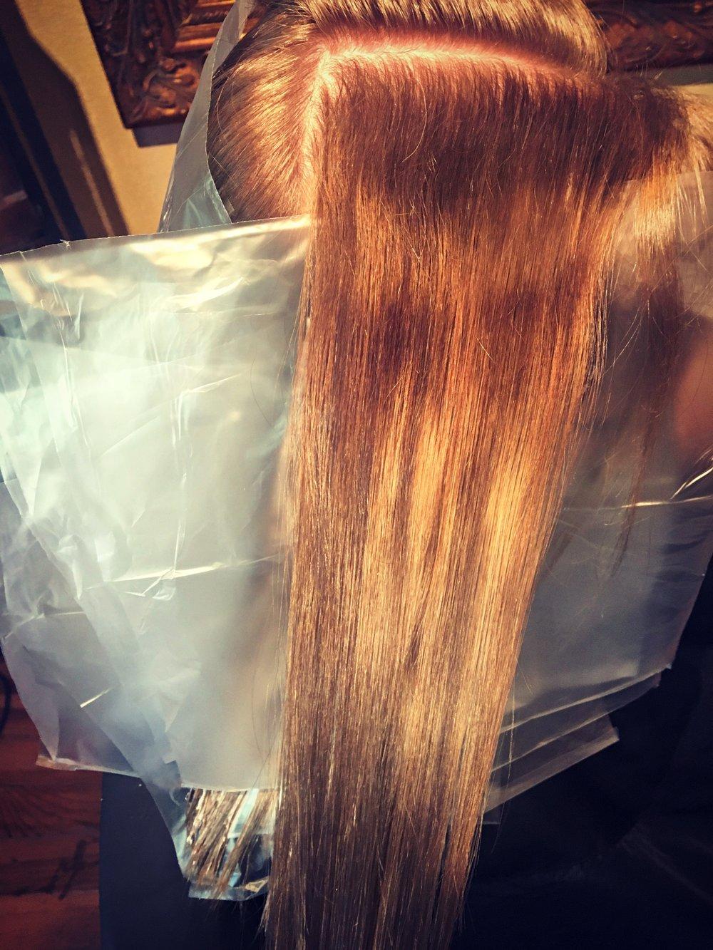 Home Hair Color A Little Hair Help