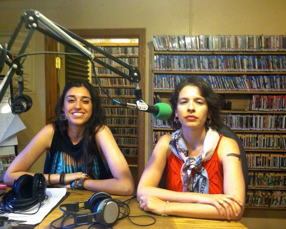 Singer Songwriter Jenn Grauer and Filmmaker Jessica Sue Burstein speaking to KXCI Tucson Radio about CHICKEN.