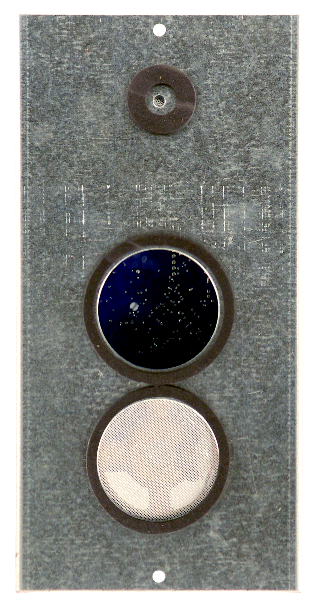 "Commander series - OEM Distance from mic to speaker is 5.875"" Total dimensions are 9.5""x4.75""x2"""