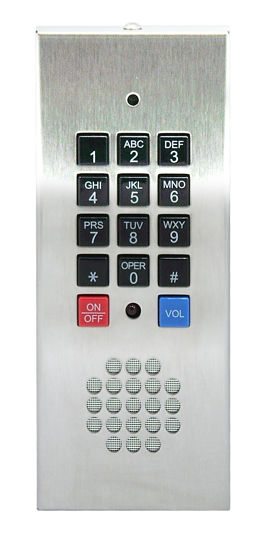 Liberator style - Keypad Surface Mount Mounts against any flat surface Not A.D.A. compliant