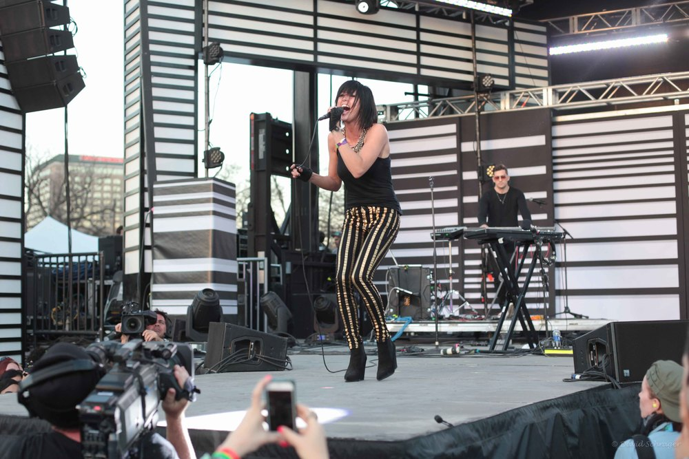 Phantogram @ The Woodies