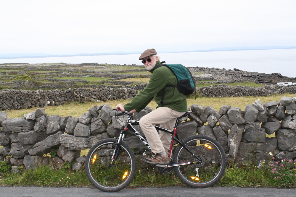 Biking on Aran Islands
