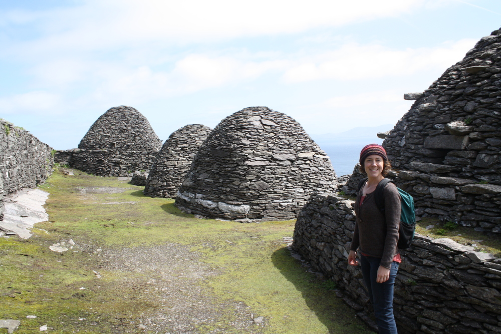 Ancient monastery on Skellig Michael island