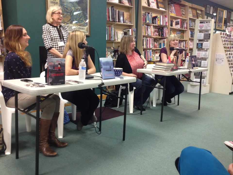Authors on panel at Quail Ridge Books in Durham NC