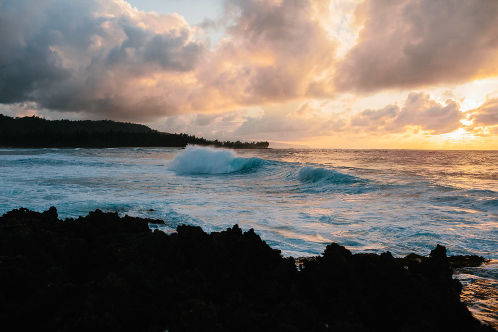 Turtle Bay Hawaii - Russell Heeter Photography