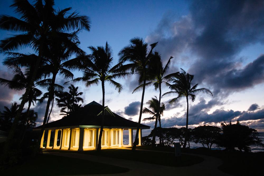 Turtle Bay Hawaii Wedding