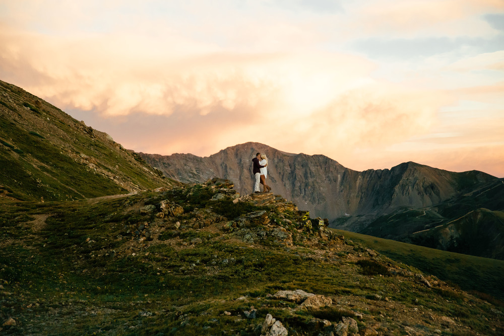 Continental Divide Colorado Engagement Session