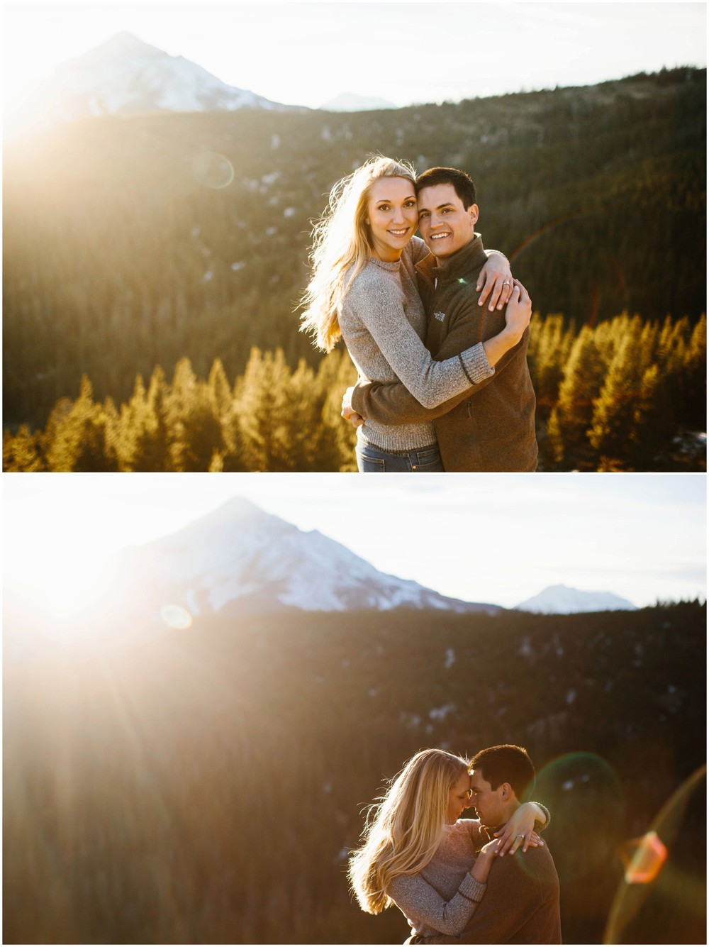 Big Sky Montana Engagement Session Russell Heeter Photography