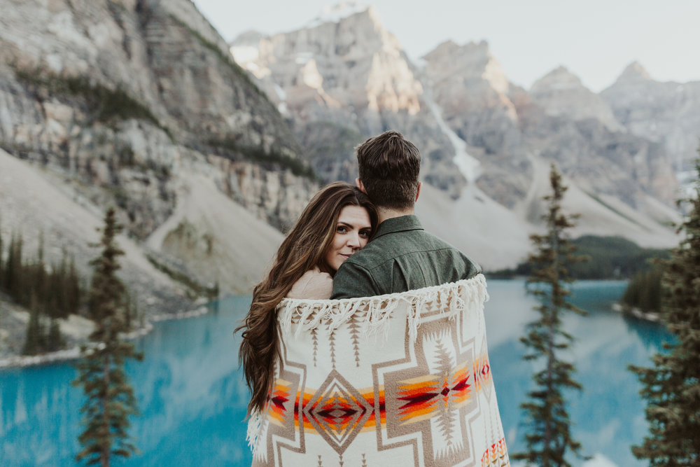 Jessie+Parker_Banff Canada Engagement Session