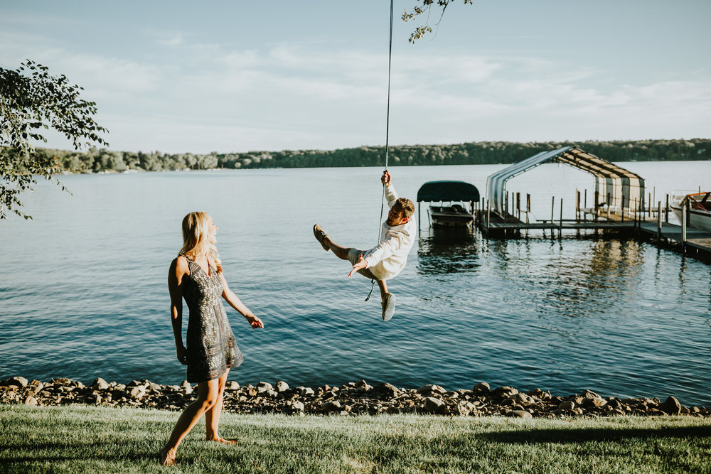 Lake Minnetonka Engagement