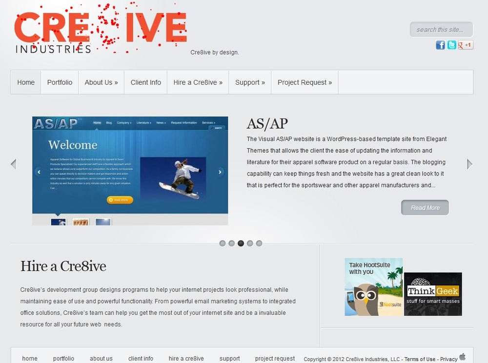 Cre8ive Websites