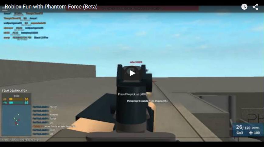 Roblox Games Phantom Forces Roblox Phantom Force Beta Review Tek Lance