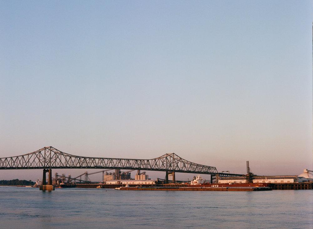 Bridge and Port of Baton Rouge_Water at Dusk_web.jpg