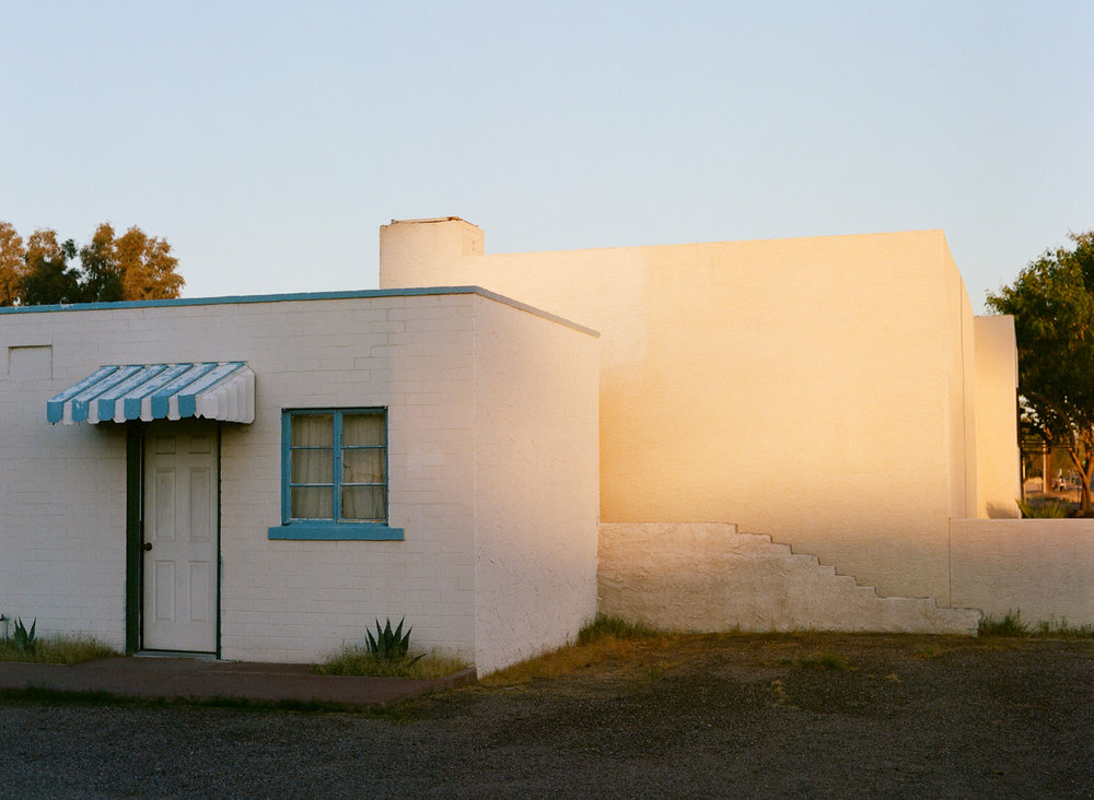 Golden Hour Light on White Walled Homes_Off of E Van Buren St 001_web.jpg