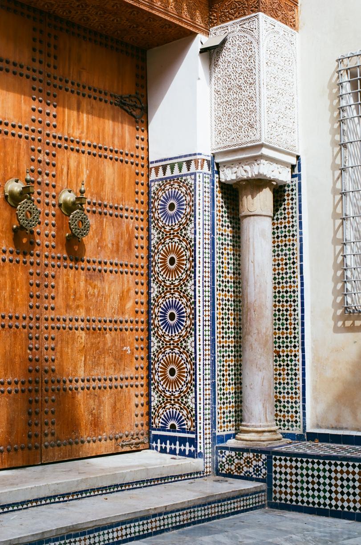 Wooden Door and Tile Walls_museum in Fez_web.jpg