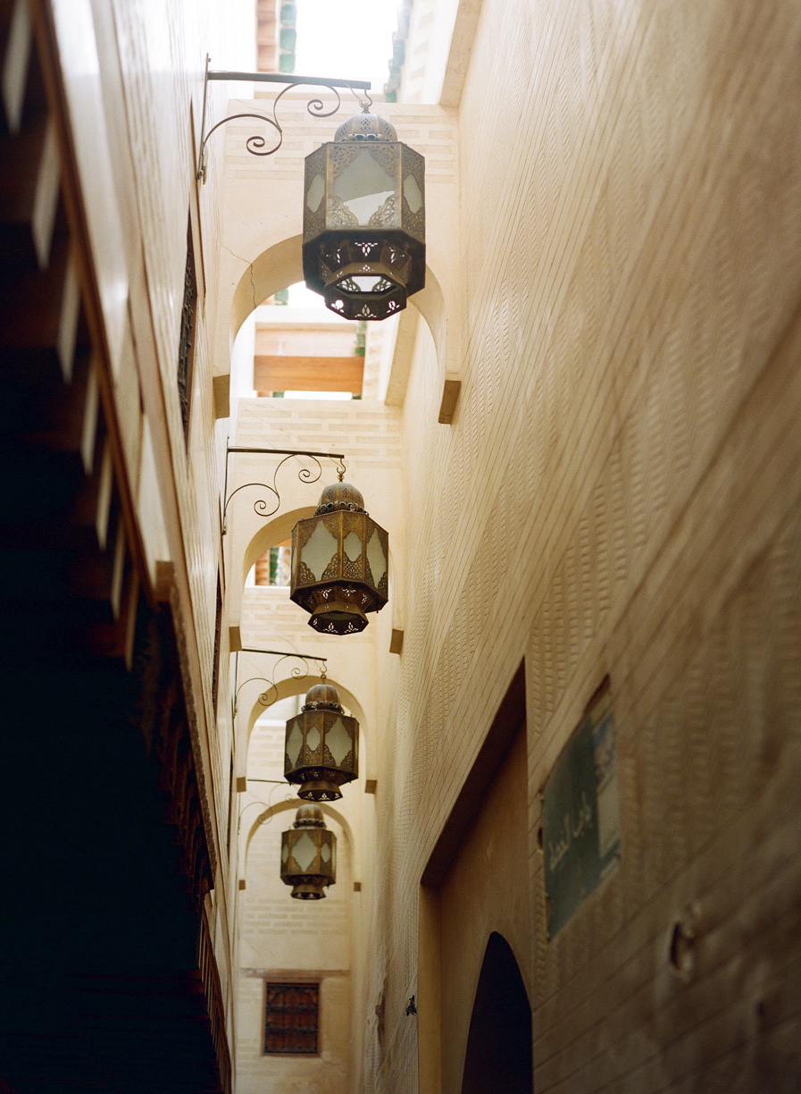 Lanterns Hung in Alleyway of Fez Medina_web.jpg
