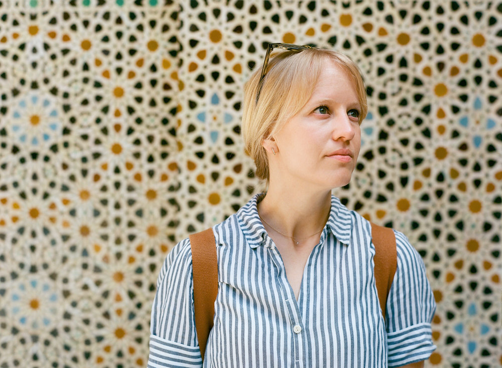 Allison Looking Away_Tile Wall in Fez_web.jpg