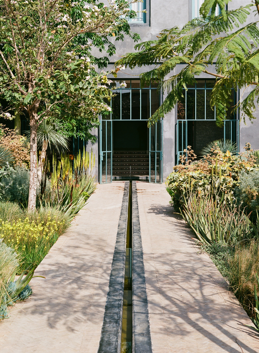Pathway to Entrance and Channel for Water Stream_Jardin Secret_web.jpg