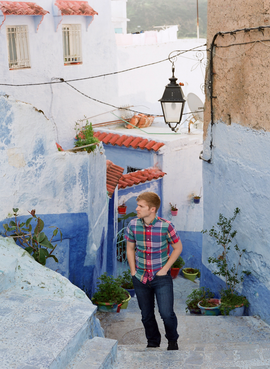 Cole on Stairway in Chefchaouen_web.jpg