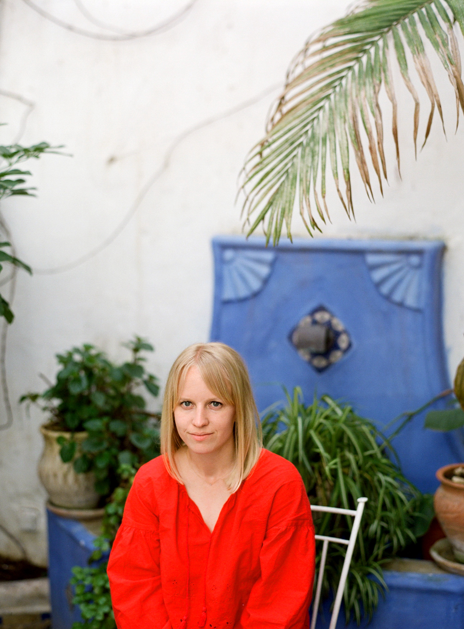 Allison Sitting in Riad in Chefchaouen_web.jpg