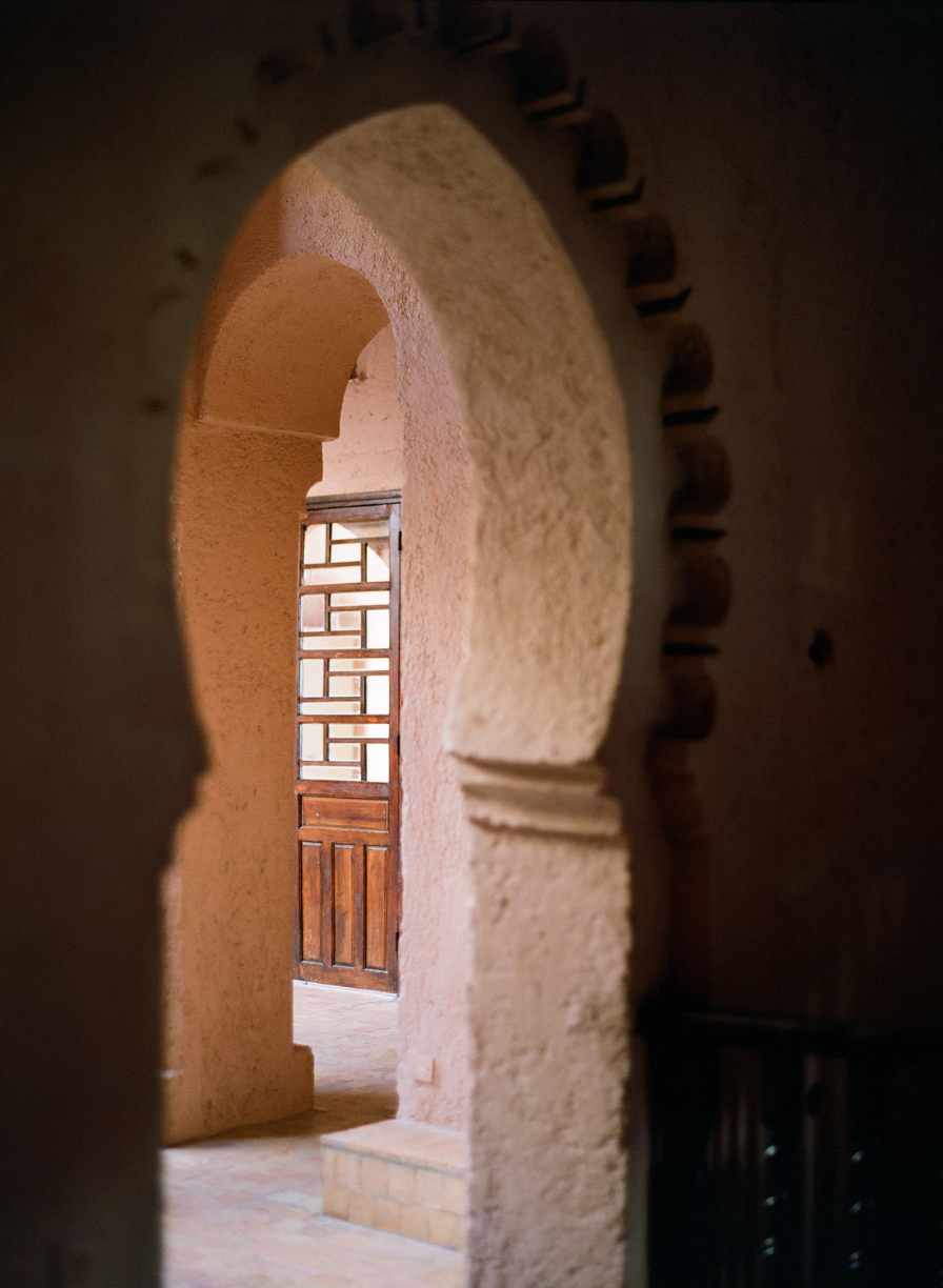 Arch Doorway to Wooden Door Inside Casbah_web.jpg