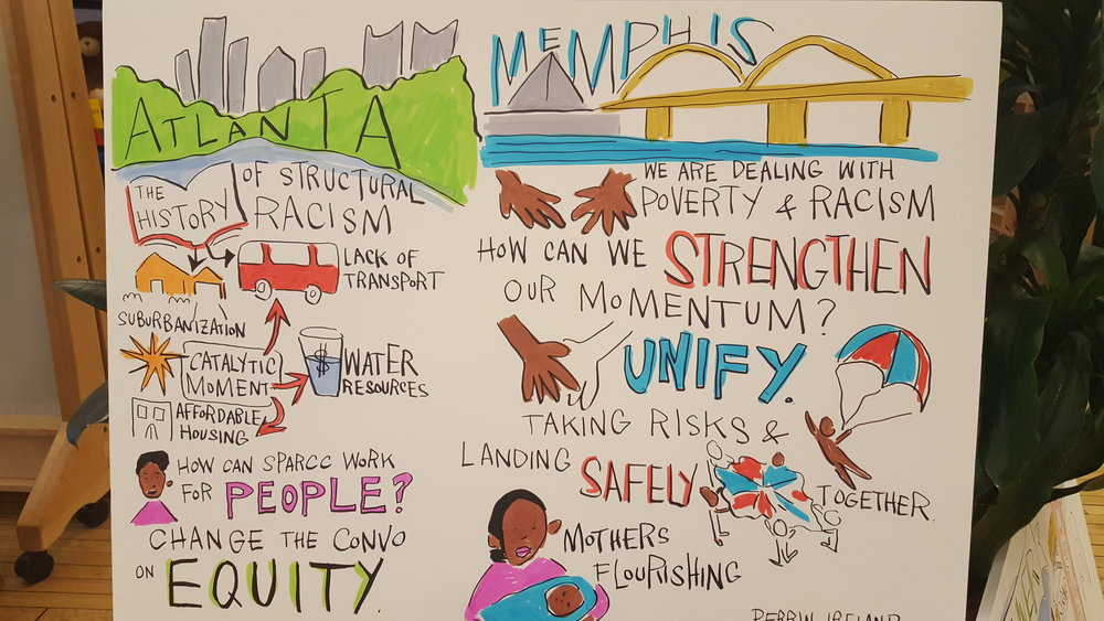 Regions like Atlanta and Memphis, in support with the SPARCC initiative, are advancing opportunities to create more inclusive, opportunity-rich communities that put racial equity at the forefront of economic and community development (Photo: M Zimmerman, 2017)
