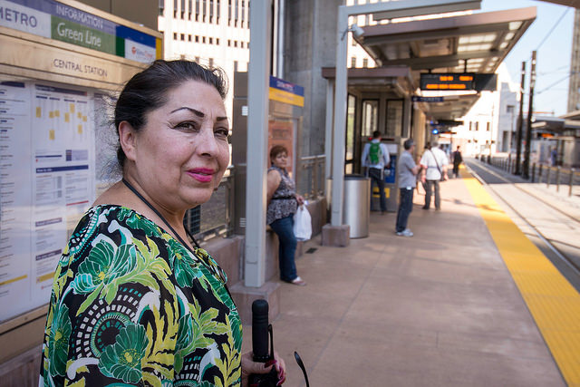 The Green Line connecting Minneapolis and Saint Paul has been a ridership success. Local residents living in low-income communities of color who relied on transit fought to change the light rail project scope to include stops for them. This, combined with broad engagement and financial resources to support community culture, local businesses and affordable housing continue to make this one of the most exciting and successful equitable TOD corridors in the nation. (Source: Central Corridor Funders Collaborative)