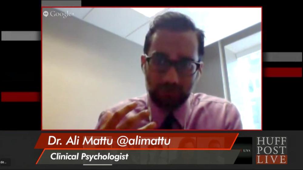 Ali Mattu Huffington Post Live Phobias