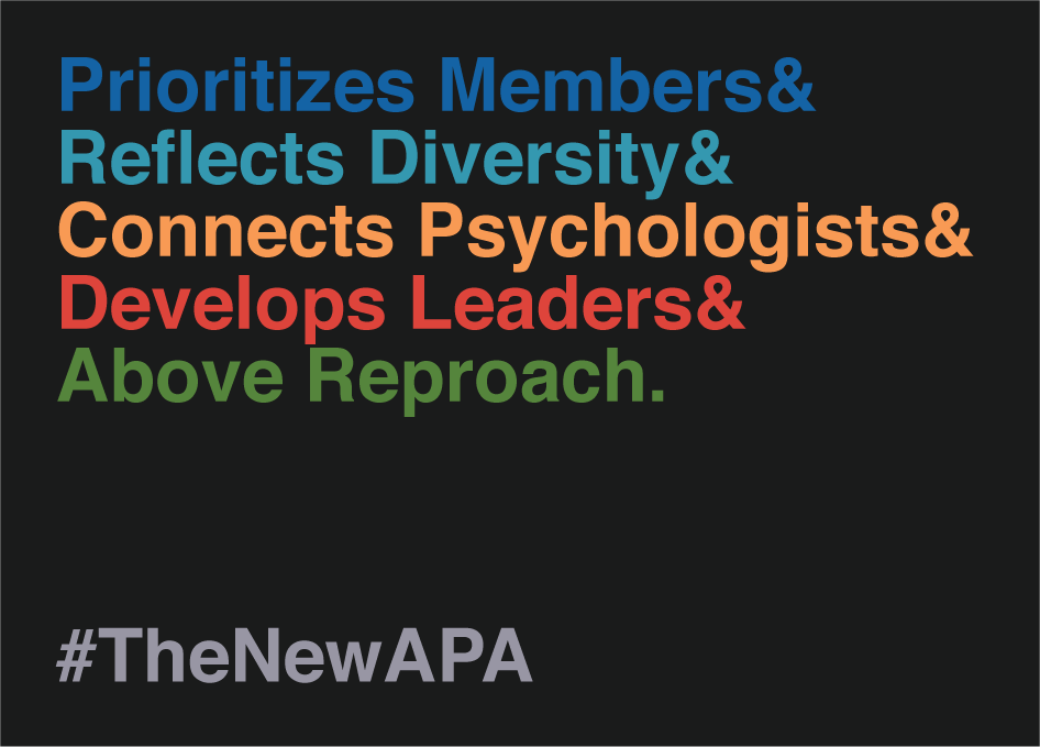 Nominate Ali Mattu for APA President #TheNewAPA
