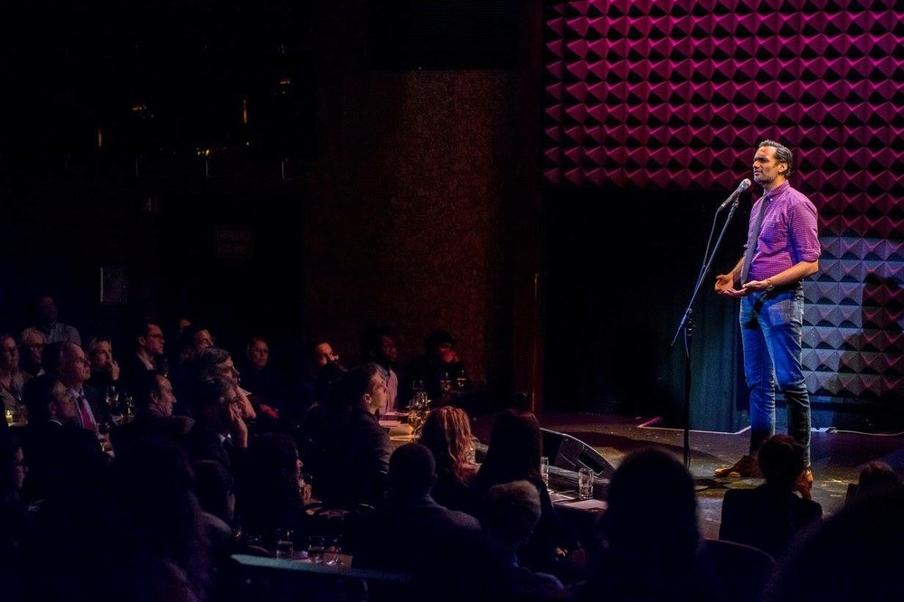 Ali Mattu, Joe's Pub, Giving Tuesday, Jed Foundation, The Public Theater