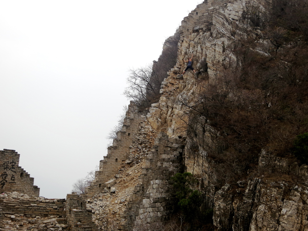 Free climb of Great Wall