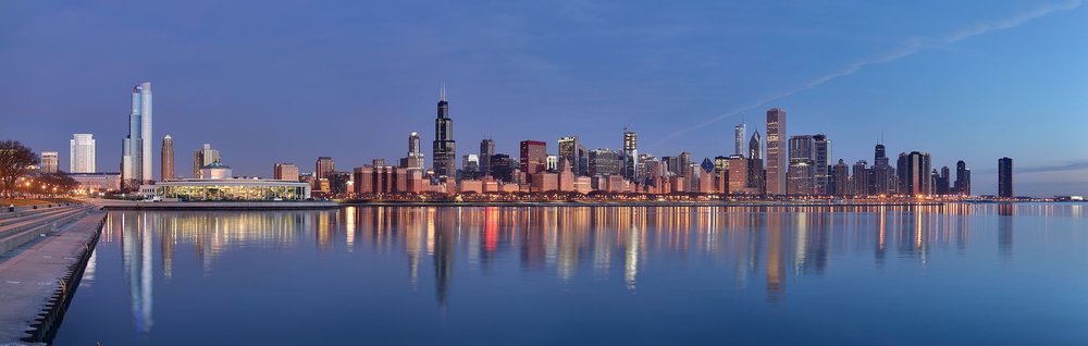 Chicago, Illinois (Daniel Schwen/Wikimedia Commons, Creative Commons)