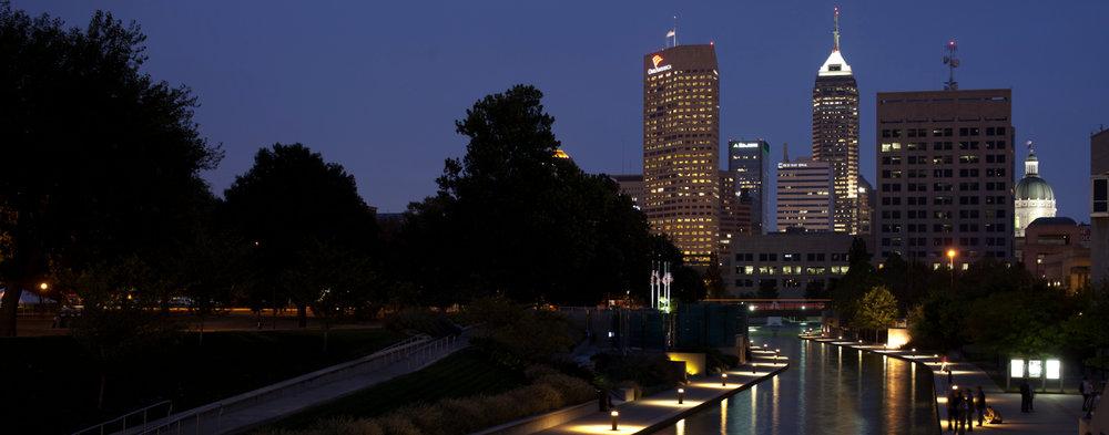 Skyline Indianapolis, Indiana ( Jimmy Baikovicius /Flickr, Creative Commons)