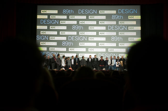 I worked with the ADC staff to redevelop the awards presentation and afterparty.