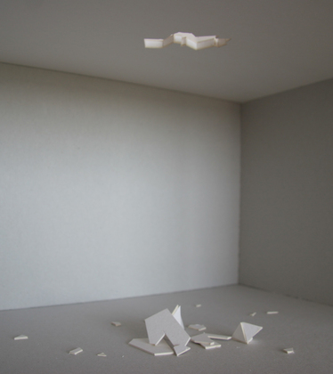 Maquette for The Hole. 2006