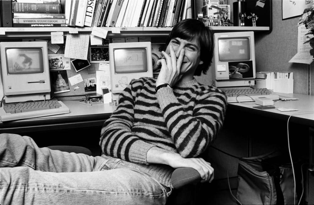 STEVE JOBS,  Woodside, CA 1984  © Norman Seeff