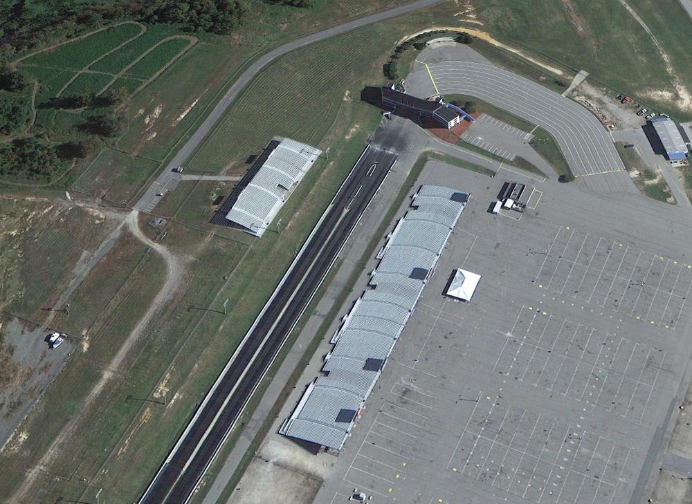 Virginia Motorsports Park © Google.