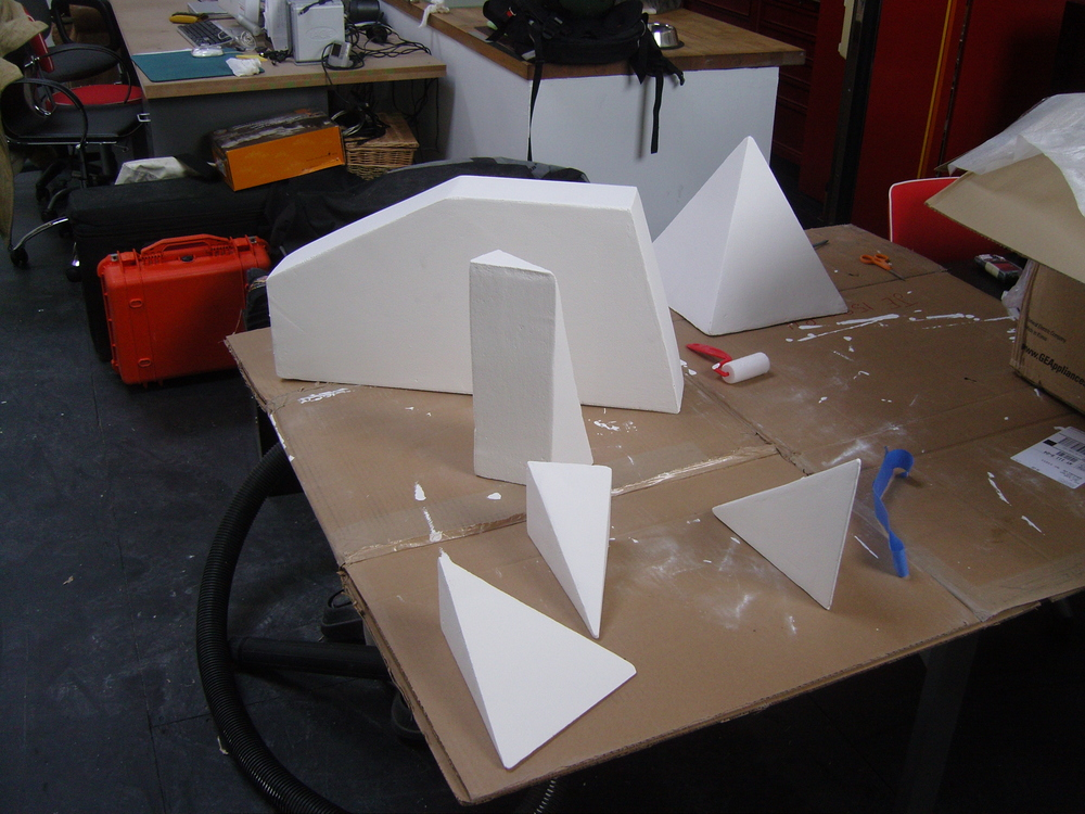 Maquette for The Hole