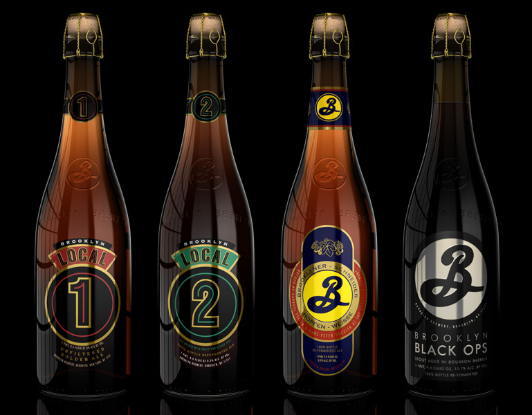 Our team created 3d renderings of the Big bottle refermented beers, in advance of the bottles being manufactured in order to accelerate the marketing process.