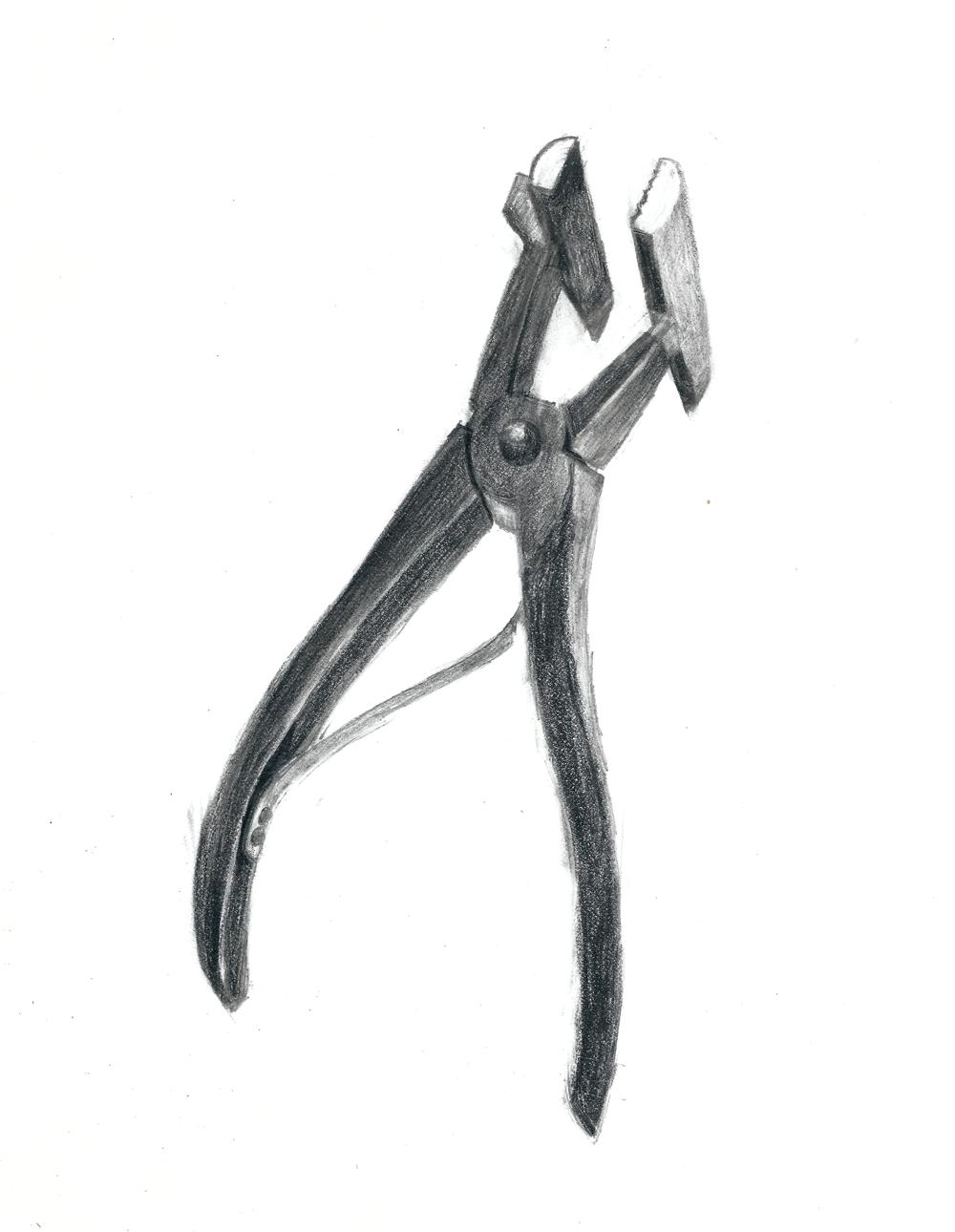 canvas pliers
