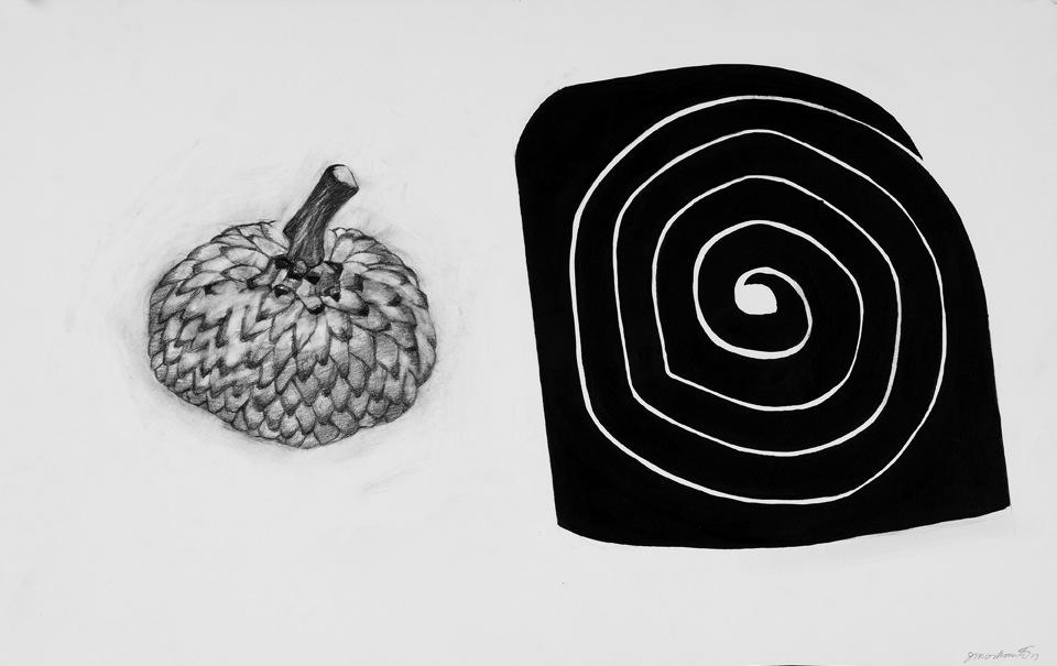 Acorn Cap /Spiral