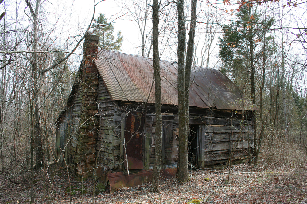 Front Of The Abandoned Cabin In The Woods  via  Photopin   (cc)