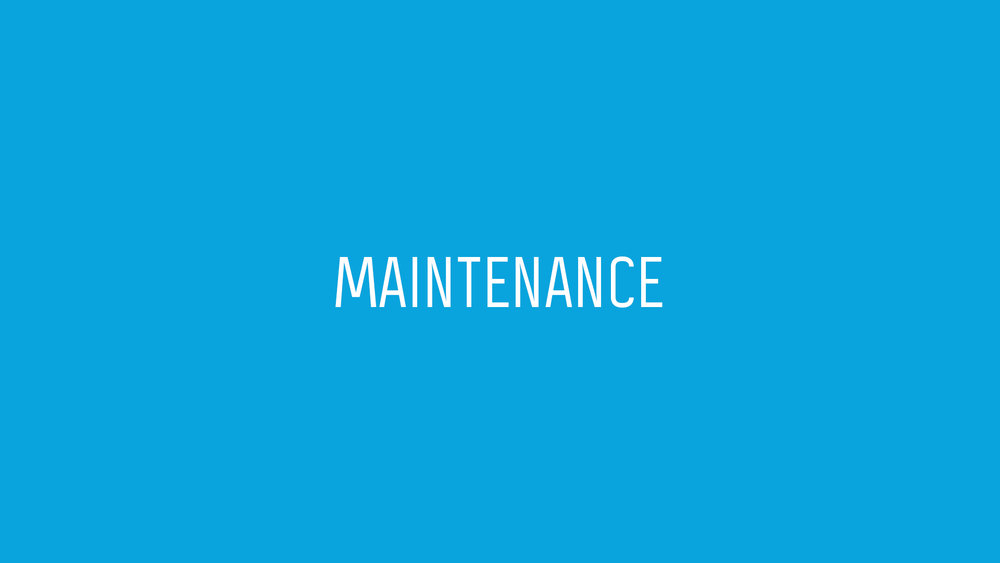 MAINTENANCE - Led by Charley Short   The maintenance team will commit 1 to 2 hours per week to serve the church. All current maintenance needs will be directed by our Building and Facilities Manager.  They will also be on-hand to help with building emergencies on Sunday.