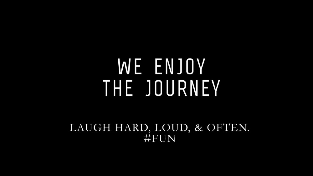 LAUGH HARD, LOUD, & OFTEN.    #FUN