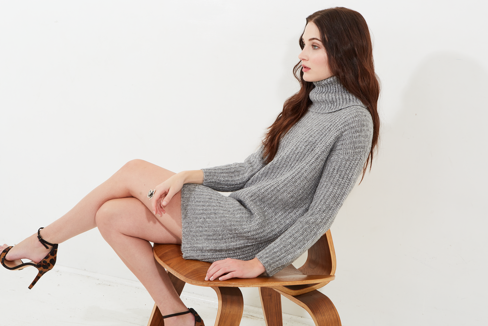 Darling Cupcakes and Cashmere Heather Grey Ventura Sweater 14.png