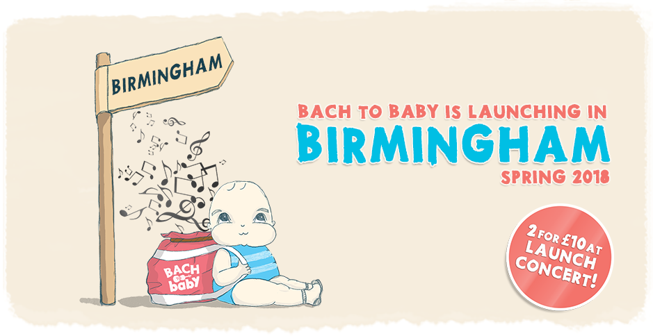 Bach to Baby Birmingham launch 2018