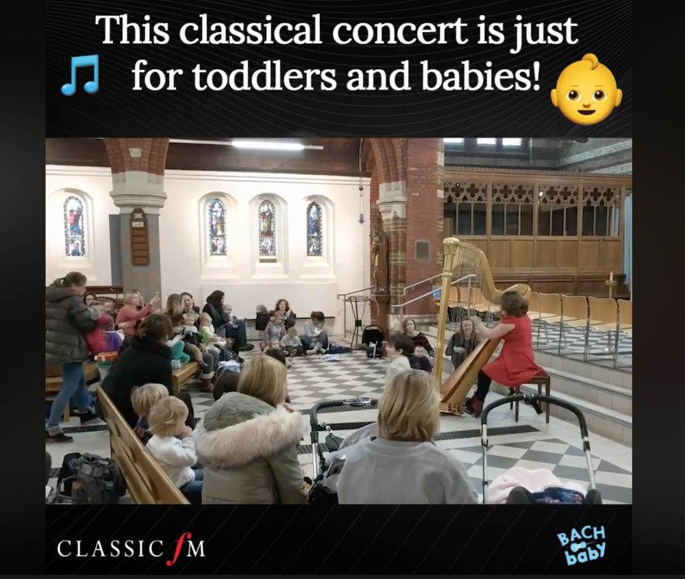 Classic FM Bach to Baby classical concert