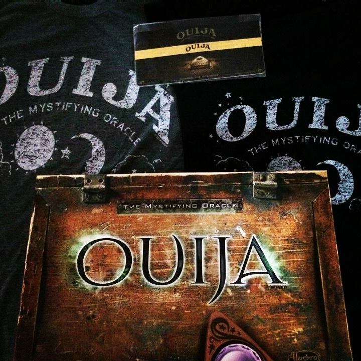 Grand Prize Package: OUIJA Board, Two T-Shirts, & Headband
