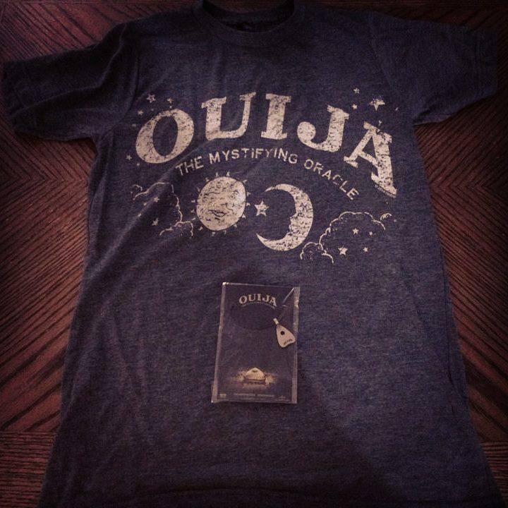 OUIJA T-Shirt & Necklace